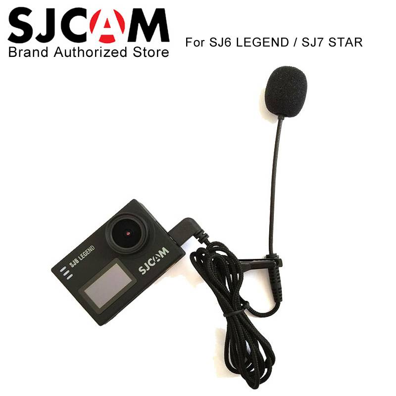 Originele SJCAMExterne Microfoon MIC voor SJCAM SJ6 LEGEND-SJ7 Ster-SJ360 Sport Action Camera Access