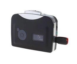 Cassette Speler Radio Speler Draagbare USB Cassette naar MP3 Converter Capture Audio Muziekspeler H0TY0