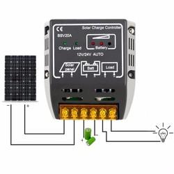MyXL 20A 12 V/24 V Zonnepaneel Laadregelaar Batterij Regulator Veilig Beschermen Solar Regulator Voor Zonnepaneel Systeem gebruik