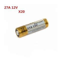 MyXL 20 STKS 27A 12 V droge alkaline batterij 27AE 27MN A27 voor deurbel, auto alarm, walkman, auto afstandsbediening etc