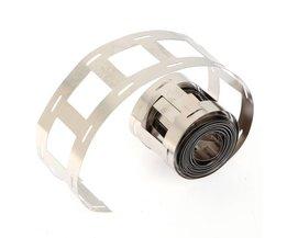 1 M 18650 Lithium Batterij Nikkel Strip Ion Batterijen Nikkel Plaat Riem Tape Voor 18650 Batterij Opslag Houder
