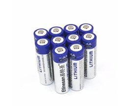 10 stks/partij etinesan super krachtige lithium 1.5 v krachtige aa enkele gebruik batterijen goede prijs en quality.15-jaar plank leven