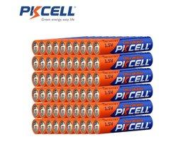 60 X PKCELL LR03 1.5 V Batterij AAA Alkaline Batterijen E92 AM4 MN2400 MX2400 1.5 Volt AAA Batterij 3A Bateria Baterias