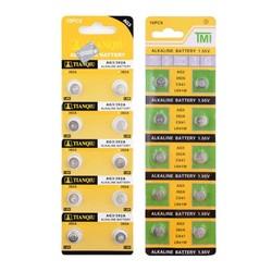 MyXL Goedkope 49% off Koop 20 stks/partij Alkaline Batterij 1.55 V G3 AG3 LR41 LR736 V3GA SR41 192 392 Knoopcel CoinCollectie