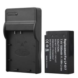 MyXL 1 st 1500 mAh LP-E17 LPE17 LP E17 Camera Batterij + USB Charger voor Canon EOS M3 M5 750D 760D T6i T6s 8000D Kus X8i