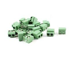 T-Beste In Aliexpress20 stks 2 Pole 5mm Pitch PCB Mount Schroefklemmenblok 8A 250 V