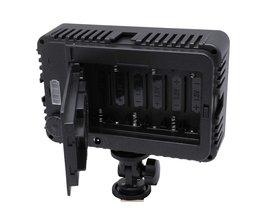 Mcoplus 130 LED Video Light/Fotografie Verlichting voor DV camcorder & canon nikon pentax sony olympus dslr camera vs CN-126