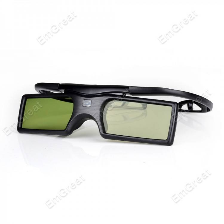 2 stks-partij bluetooth 3d shutter actieve tv bril voor samsung panasonic sony 3d tv universele tv 3