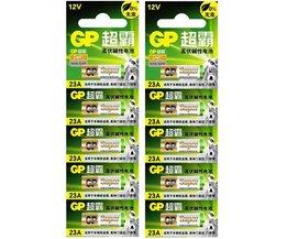 10 stks/partij12 V GP A23 23A Ultra Alkaline batterij/alarm batterijen