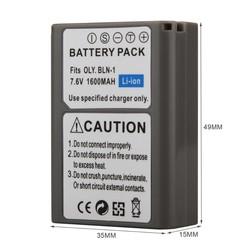 MyXL GOLDFOX 1 st 1600 mAh BLN-1 PS-BLN1 Digitale Camera Batterij Voor OLYMPUS PS-BLN1 BLN-1 Oplaadbare Batterij voor E-M5 EM5 OMD OM-D