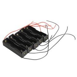 MyXL 5X Single Slot 18650 Mobiele Batterij Clip Case Houder met Draad Leads DIY