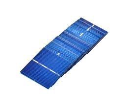 50 Stks Zonnepaneel China Painel Solar Voor DIY Zonnecellen Polykristallijne Fotovoltaïsche Panel DIY Solar Lader