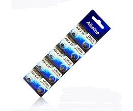 10x Buffle AG4 Knoopcel Batterijen 1.55 V LR626 LR66 377 SR626SW 177 Mobiele Horloge Speelgoed Remote Camera