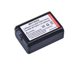 1 St 2000 mAh NP-FW50 NPFW50 NP FW50 Batterij voor Sony Alpha a33, a35, a37 a55, SLT-A33, SLT-A35, SLT-A37, SLT-A37K, SLT-A37M, SLT-A55