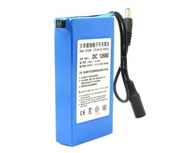 ELEOPTIONDC12680 6800 mAh 12 V Oplaadbare Batterij oplaadbare batterijen Voor draadloze zenders CCTV camera