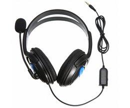 Wired Gaming Stereo Headset Hoofdtelefoon Oortelefoon Met Hoge Gevoeligheid Microfoon Voice Control Fit Voor PS4 PlayStation 4