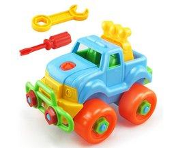 Demontage Montage Moer Speelgoed Auto Klassieke Speelgoed Met Monteer Schroef Driver Vroege Puzzel Educatief Speelgoed Voor Kinderen Kids