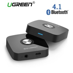MyXL Ugreen 4.1 Draadloze Bluetooth Ontvanger 3.5 MM Aux ontvanger Audio Stereo Muziek Ontvanger Bluetooth Audio Adapter Auto Aux Ontvanger