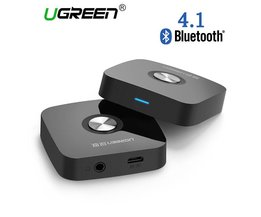 Ugreen 4.1 Draadloze Bluetooth Ontvanger 3.5 MM Aux ontvanger Audio Stereo Muziek Ontvanger Bluetooth Audio Adapter Auto Aux Ontvanger
