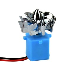 MyXL 2 stks 0.01-15 V Micro wind hydro turbines Hydraulische dual wind generator Model Generator