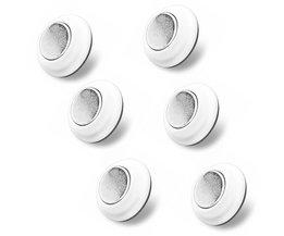 Magnetische Sleutelhanger Ring Key Houder Organizer Rack met Lijm Gemakkelijk Installatie