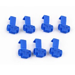 MyXL 50x Blauw Elektrische Kabel Connectors Snelle Quick Splice Lock Draad Terminals Crimp