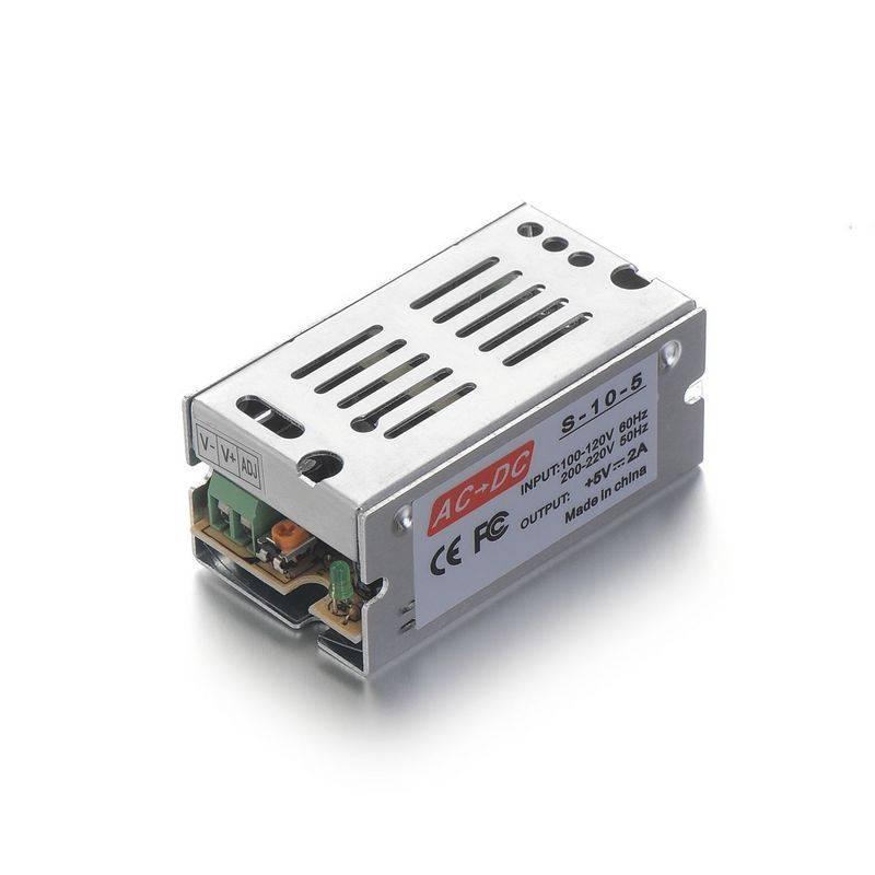 DC5V 2A 10 W Stroomvoorziening Adapter Driver Transformator Voor 5050 5730 5630 3528 LED Stijve Stri