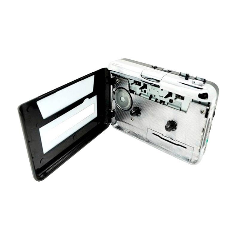LarryjoeUSB cassette capture Speler, Tape naar PC, Super Draagbare USB Cassette-to-MP3 Converter Cap