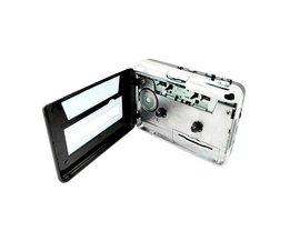 LarryjoeUSB cassette capture Speler, Tape naar PC, Super Draagbare USB Cassette-to-MP3 Converter Capture met Retail Pakket