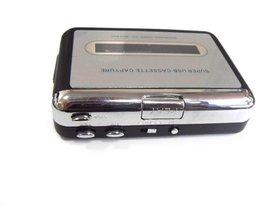 Cassette speler USB Cassette MP3 Converter Capture Audio Muziek speler Converteren muziek op tape om Computer Laptop Mac OS EZ-218