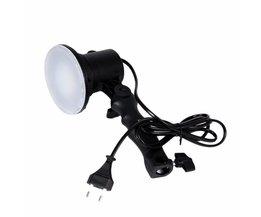 Handheld Draagbare LED Lamp Fotostudio Gloeilamp US/EU Plug Heldere Voor Portret Softbox Vullen Licht Camera Lichten EU