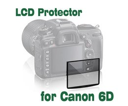 SMILYOU 1 Stks Professionele LCD Optische Glas Screen Protector voor Canon 6D Compact Glas Beschermfolie camera accessoires