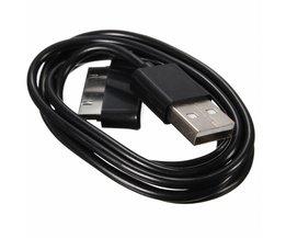 USB naar 30pin Lader Sync Data Kabel Voor Samsung Galaxy TAB P5100 P7510 P1000 P6210 P6800 P6810 P7100 P7300 P7310 P7500