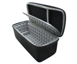 Hardshell EVA Opslag Carrying Reistas Zak voor JBL Flip 1/2/3/4 Splashproof Draagbare Bluetooth Speaker (zwart)