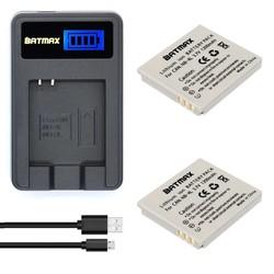MyXL 2 Stks 1200 mAh NB-4L NB 4L NB4L Ion Batterijen + LCD USB Oplader voor Canon IXUS 60 65 80 75 100 I20 110 115 120 130 IS 117 220 225