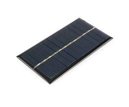 5 stks/partij Zonnepaneel Draagbare Mini 6 V 1 W Sunpower DIY Module Panel Systeem Voor Solar Lamp Batterij Speelgoed telefoon Oplader 110*60mm