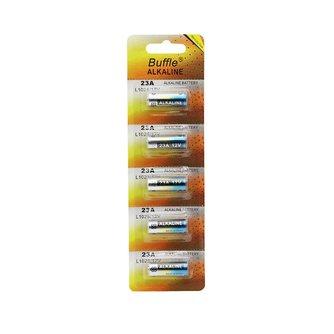 5 stks/pak Buffle 23A 12 V Alarm-Remote Droge Alkaline Batterij 21/23 23GA A23 L1028 GP23A Voor Afstandsbediening