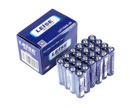 Leise AAA Prestaties Carbon Batterijen (24-Pack) Duurzaam Stabiele Explosieveilige R03 Size aaa UM4 1.5 V Batterij verpakking Kan Variëren
