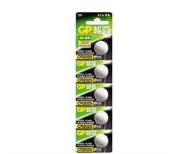 5 STKS/PARTIJGP CR2025 3 V Lithium Knoopcel Batterij 2025 Button Coin batterijen