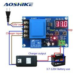 MyXL Aoshike 3.7 V-120 V CNC Opslag Batterij/Lithium Batterij Opladen Controle Module Batterij Schakelaar Bescherming Boord