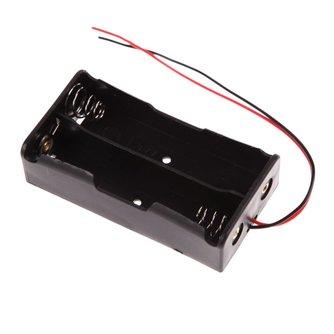 5 stks/partijPower bank 18650 Batterij Houder Plastic Batterij Houder Opbergdoos Case voor 2x18650