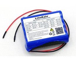 Liitokala12 V 2600 mAh lithium-ion batterij Monitor CCTV Camera batterij 12.6 V naar 11.1 V 18650 backup power