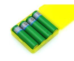 4 STKS VariCore VTC6 3.7 V 3000 mAh 18650 Li 30A Ontlading voor Sony US18650VTC6 Gereedschap e-sigaret batterijen + opbergdoos