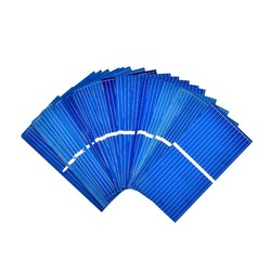 MyXL Aoshike 100 St Zonnepaneel Zon Mobiele Sunpower Zonnecel Polykristallijne Fotovoltaïsche DIY Solar Lader 0.5 V 0.2 W 52*26mm