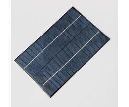BUHESHUI 4.2 W 18 V Polykristallijne Zonnecellen Zonnepanelen Module Voor Opladen 12 V Batterij DIY Solar Systeem 200*130 MM
