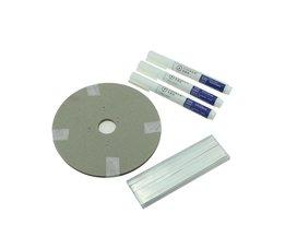 Zonnecel PV Linten Strip 60 M Tabben Draad + 6 M Busbar draad Tape + 3 Stks Flux Pen Voor DIY Zonnepaneel solderen