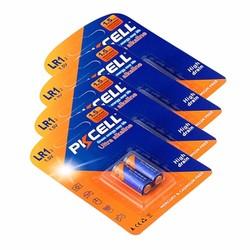 MyXL Pkcell alkaline batterij 1.5 v droge batterij model LR1 N batterij AM5 E90 sperker/bluetooth/spelers batterij 8 stks/4 card
