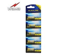 5 stks/partij 32A LR32 29A L822 9 V Batterij voor Motorfiets Sleutel Afstandsbediening Veiligheid Alarm Laser Pen Speelgoed Torch