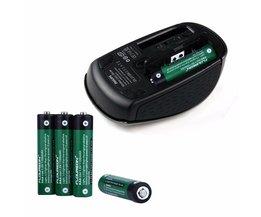 Floureon 1.5 v 1100 mAh batterij 4 stks Li-fe AA Li-fe AAA Batterij voor MP3 Zaklamp Radio Hoge Drain Apparaten Baterias Cellen Set