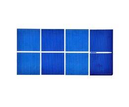 100 Stks Zonnepaneel China Painel Solar Polykristallijne Silicium Placa Solar DIY Panneau Solaire Zonnecellen 52x26 MM 0.45 V 0.25 W